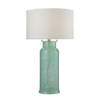 Dimond Lighting Seafoam Green Glass Bottle Table Lamp