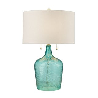 Dimond Lighting Hatteras Hammered Glass Table Lamp