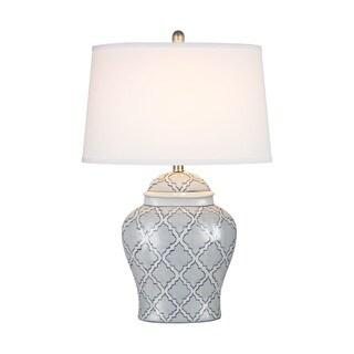 Dimond Lighting Aragon Blue/White Ceramic Table Lamp