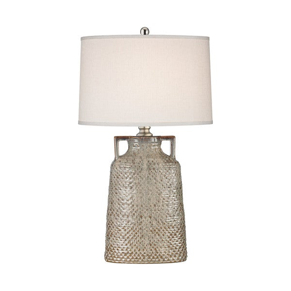 Dimond Lighting Naxos Cream Glaze Metal and Ceramic Table Lamp