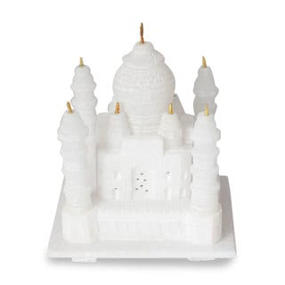 Marble Sculpture, 'Taj Mahal' (Small) (India)