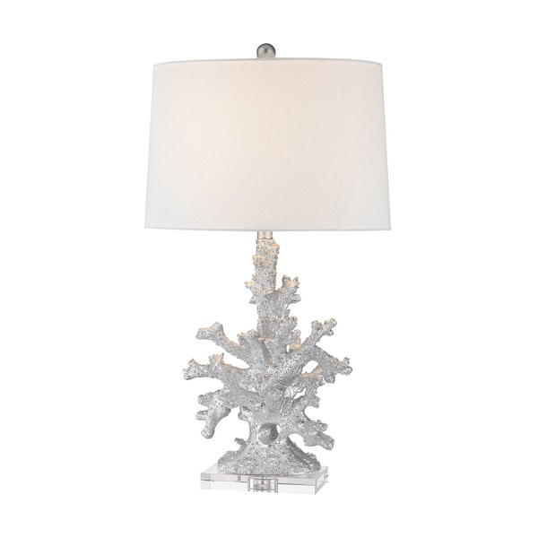 Dimond Lighting Trunk Bay Silver Table Lamp