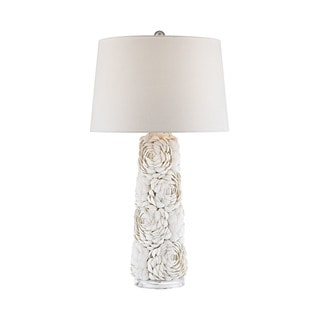 Dimond Lighting Windley Natural Shell and Acrylic Table Lamp