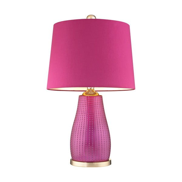 Dimond Lighting Brigitte Table Lamp with Pink Shade