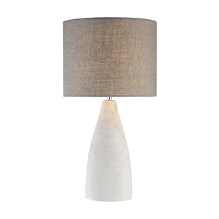 Dimond Lighting Tall Rockport Concrete/Metal Table Lamp