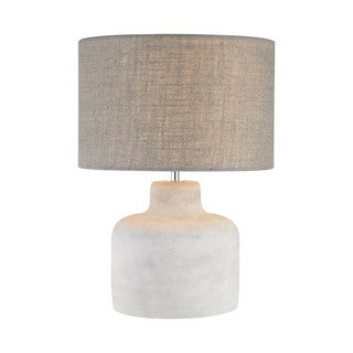 Dimond Lighting Short Rockport Concrete and Metal Table Lamp