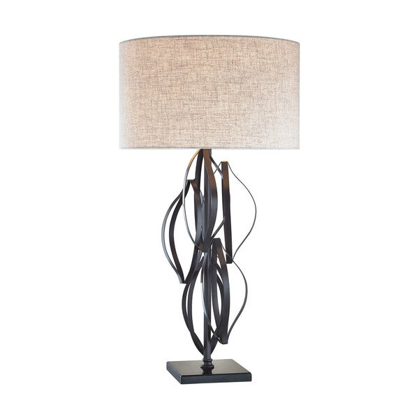 Dimond Lighting Felix Bronze Metal Table Lamp