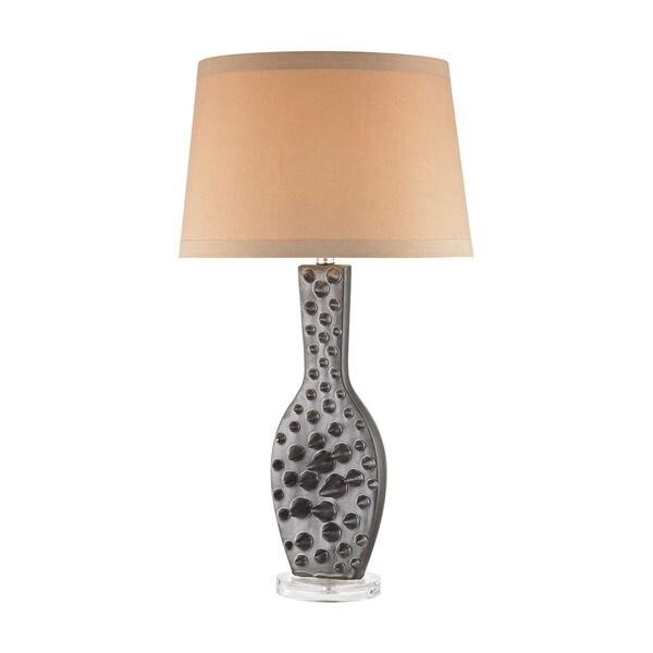 Dimond Lighting Silkfloss Bronze Metal Table Lamp