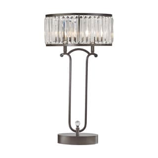 Dimond Lighting Rudolfo Bronze Metal 2-light Table Lamp