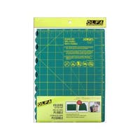 Shop Olfa Gridded Cutting Mat Set Clipped Free Shipping