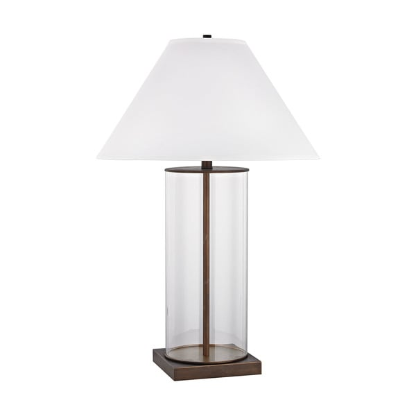 Dimond Lighting Park Slope Dunbrook Bronze Metal and Glass 33-inch Table Lamp