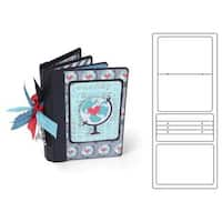 Sizzix EHull Scoreboards XL Die Book Passport