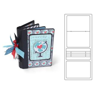 Sizzix EHull Scoreboards XL Die Book Passport