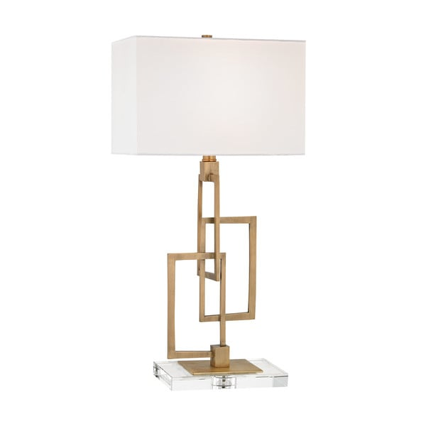 Dimond Lighting Duet Antique Brass Table Lamp