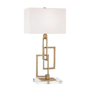 Dimond Lighting Duet Antique Brass Table Lamp