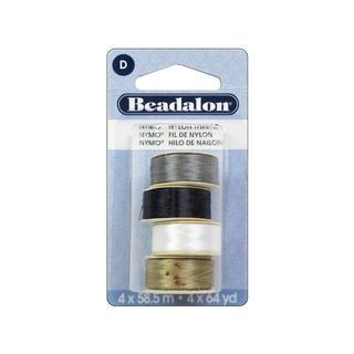 Beadalon Nymo Thread Size D Variety Pack