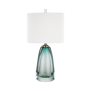 Dimond Lighting Ms. Aqua Blue Glass Table Lamp