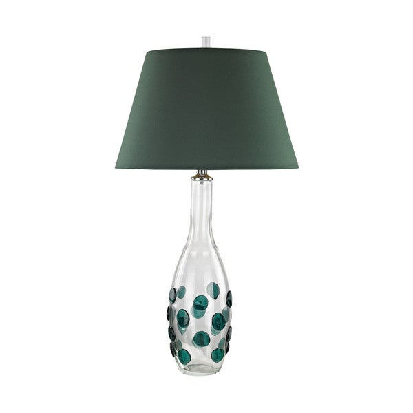 Dimond Lighting Confiserie Green Glass 30-inch Table Lamp