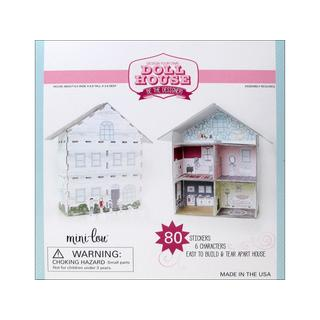 MiniLou Design Your Own Doll House Box Set