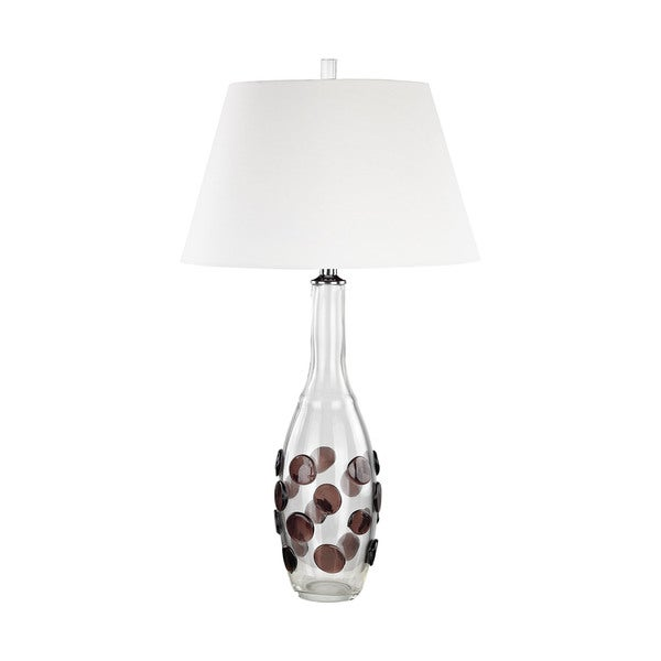 Dimond Lighting Garnet Confiserie Table Lamp with White Shade