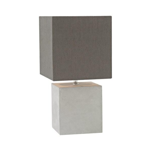 Dimond Lighting Brocke Grey Concrete Table Lamp