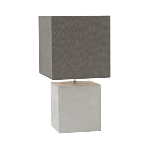 Dimond Lighting Brocke Grey Concrete Table Lamp