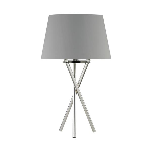 Dimond Lighting Excelsius Polished Nickel Metal Table Lamp