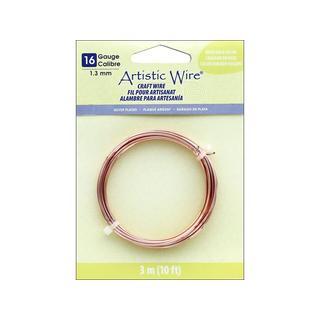 Artistic Wire 16Ga Tarnish Resistant RoseGold 10ft