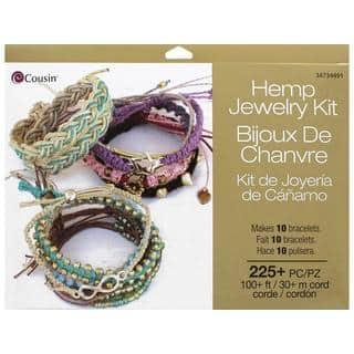 Cousin Jewelry Kit Hemp|https://ak1.ostkcdn.com/images/products/16199538/P22571198.jpg?impolicy=medium