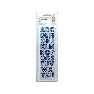 Docrafts Carbonized Steel Alphabet Die Set