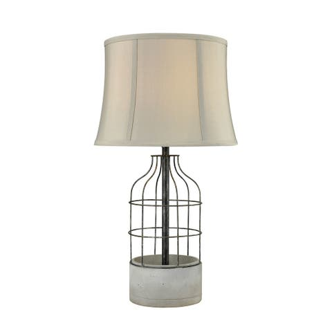 Dimond Lighting Rochefort Concrete Table Lamp