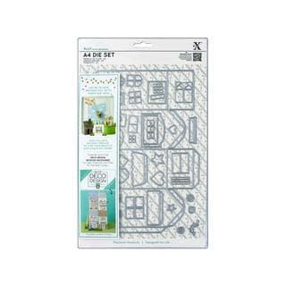 Docrafts Xcut Die Set A4 Deco Design House