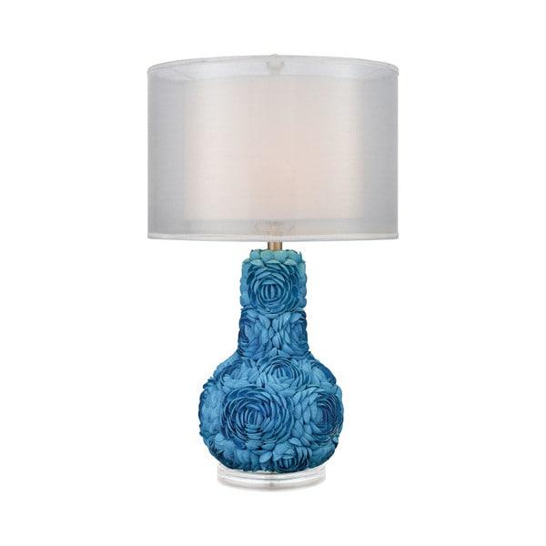 Dimond Lighting Portonovo Blue Acrylic Table Lamp
