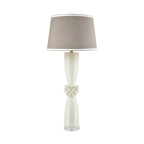 Dimond Lighting Tranquillo White Ceramic Table Lamp