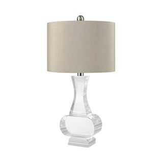 Dimond Lighting Chalette Clear Crystal Table Lamp