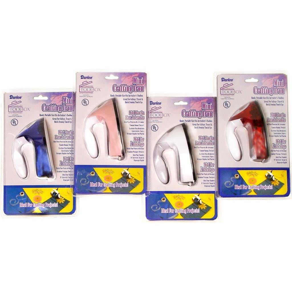 DARICE Assorted Colors Mini Crafting Iron (Jewelry Tools)