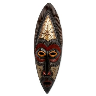 Akan Wood Mask, 'Star Deity' (Ghana)