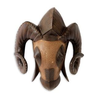 African Mask, 'Baule Ram' (Ghana)