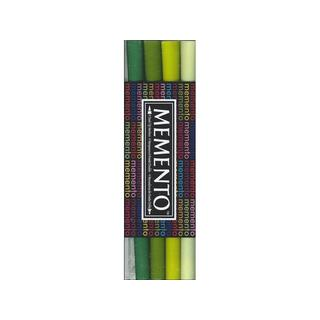 Tsukineko Memento Ink Marker Set/4 Greenhouse