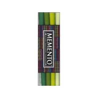 Tsukineko Memento Ink Marker Set/4 Greenhouse