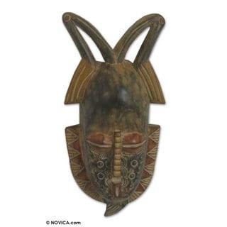 Ewe Wood Mask, 'Spirit of Fruitfulness' (Ghana)