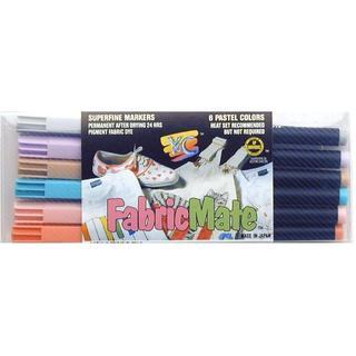 Y&C Fabricmate Pen Brush Tip Set Pastel 6pc