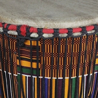 Wood Djembe Drum, From the Past