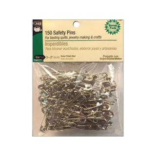Dritz Safety Pins Size 3 Nickel 150pc