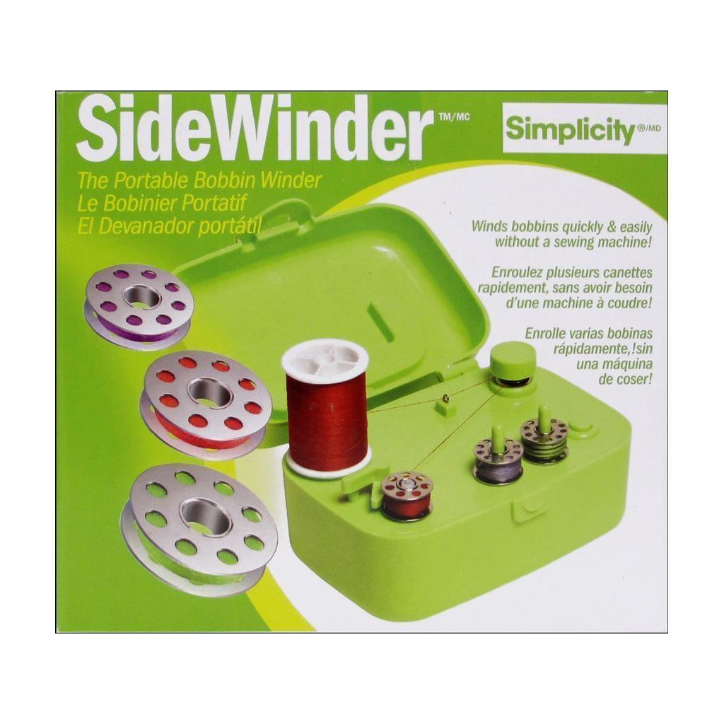 Simplicity SideWinder Bobbin Winder Green (Other Notions)