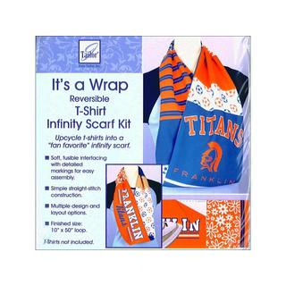 June Tailor It's A Wrap T-Shirt Scarf Infinity