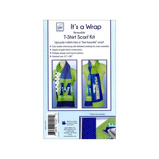 June Tailor 'It's A Wrap' Reversible T-Shirt Scarf Kit