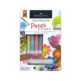 Faber-Castell Paper Flowers Kit