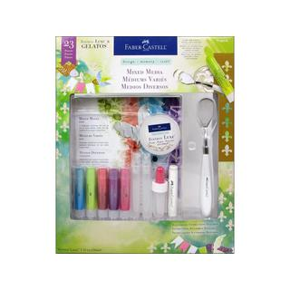 FaberCastell Mixed Media Kit Tropical