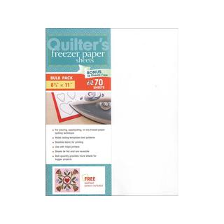 C&T Publishing Quilter's 8.5-inch by 11-inch Freezer Paper Sheets (70pc)